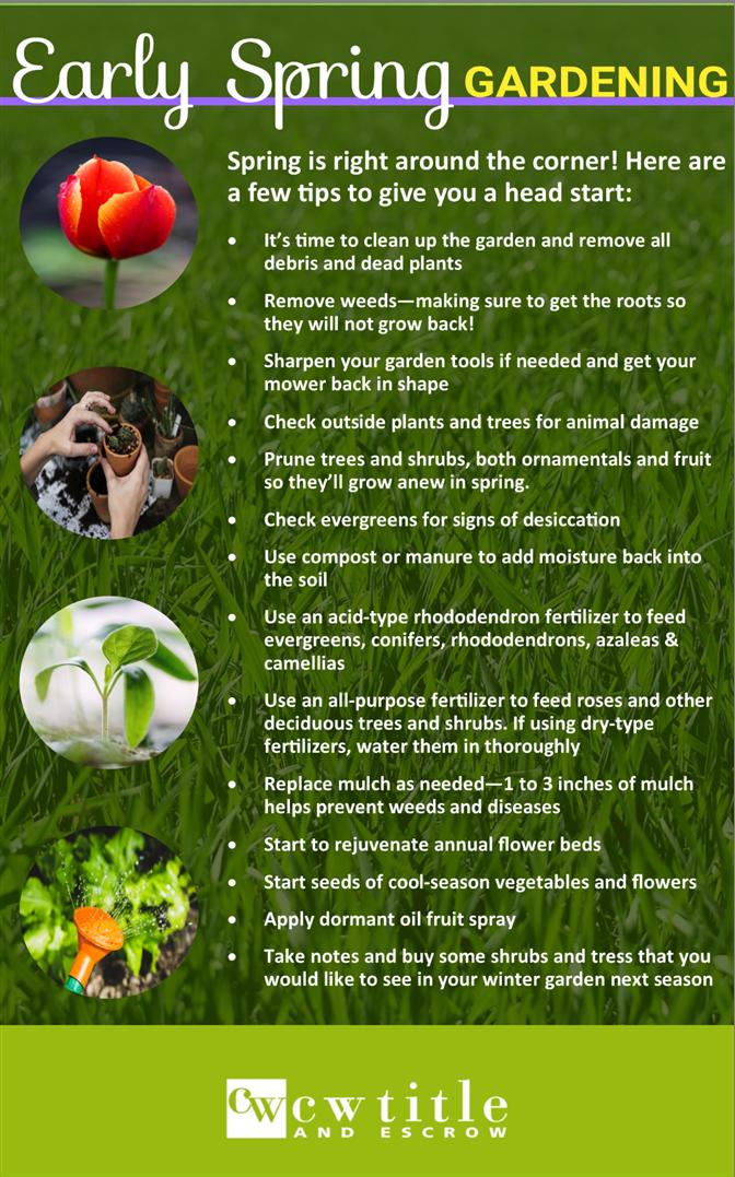 Bon Spring Gardening Tips